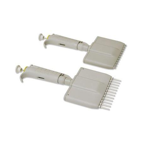 Pipeta automática multicanal 12 canales Digipette. Volumen 20-200 ul