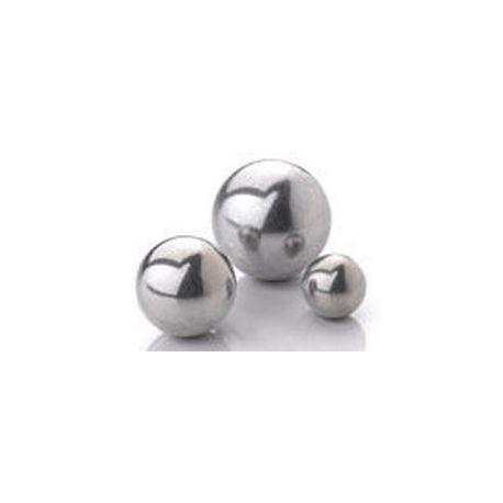 Bola llisa acer inoxidable AISI 420-C. Diàmetre 22 mm