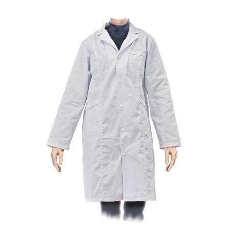 Bata laboratorio ropa algodón 100%. Hombre talla M