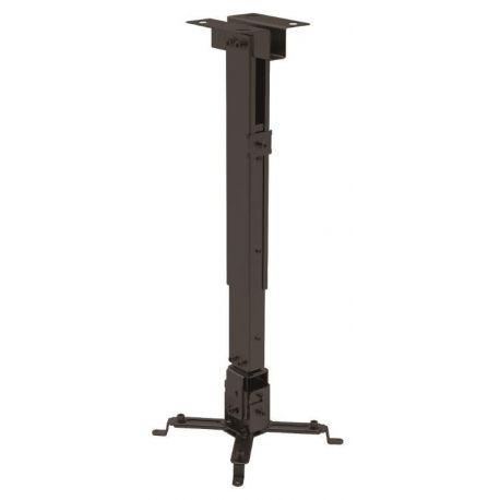 Suport sostre videoprojector Traulux PRB-2. Metàl·lic 430-650 mm