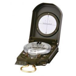 Brújula líquido Herter 887. Metálica con clinómetro óptico 50 mm