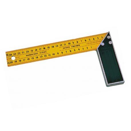 Escuadra aluminio milimetrado. Tamaño 250 mm