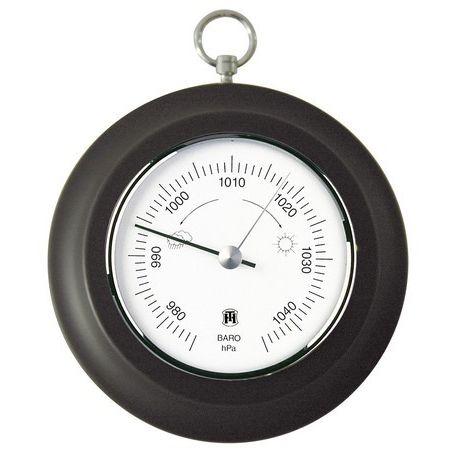 Barómetro aneroide simple Herter 4926. Superior base plástico 110 mm