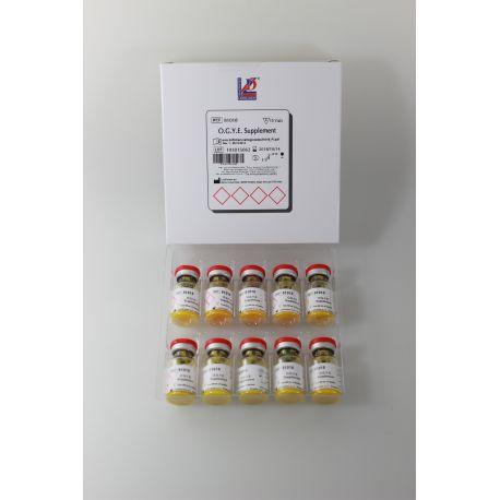 Suplement oxitetraciclina (OGYE) L-81018. Capsa 10 vials