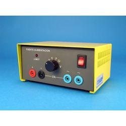 Font alimentació QLN-001. Analògica 1...12 Vca/6A i 1...12 Vca/6A