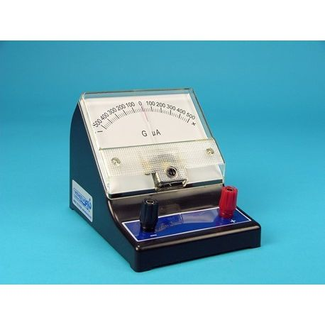 Galvanòmetre microamperímetre V-16416. Escala -500-0-500 uAcc