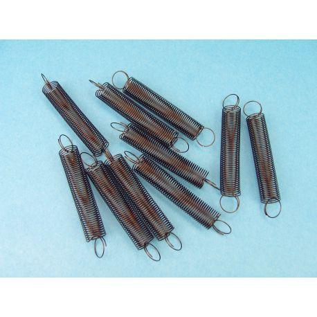 Molles helicoïdals elasticitat 2 N/m V-11335. Capsa 10 unitats