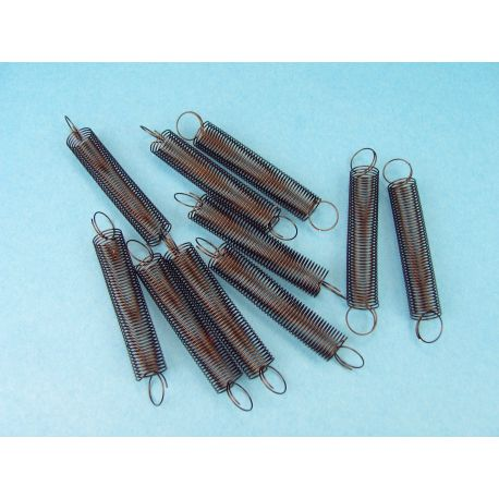 Molles helicoïdals elasticitat 50 N/m V-11341. Capsa 10 unitats