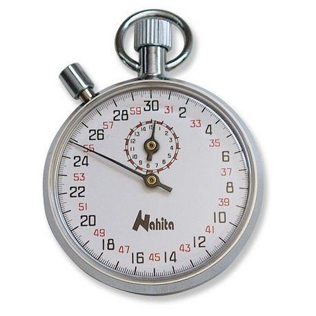 Cronómetro mecánico Nahita 803. Contador 0-15 minutos en 1/10 s