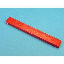 Imants alnico rectangulars vermells. Mides 104x12x6 mm. Parell