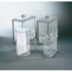 Cubeta cromatografia Miltiplak 200x200 mm. Capacitat 5 plaques