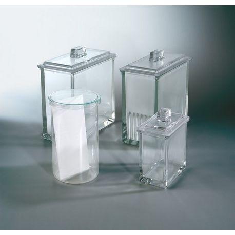 Cubeta cromatografía Rollerplak 110x210 mm. Capacidad 1 placa