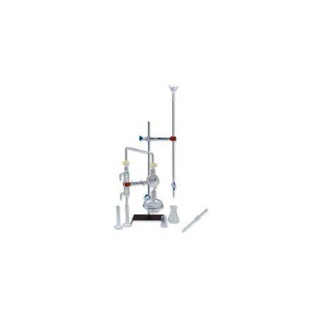 Equipo química esmerilados 14/23 PBB-003. Acidez volátil en vinos, 15 piezas