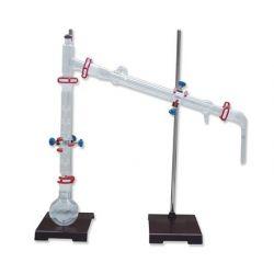 Equip química esmerilats 29/32. Destil·lació fraccionada 5 peces