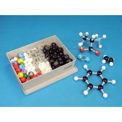 Modelos moleculares MMS-003. Química orgánica 111 átomos