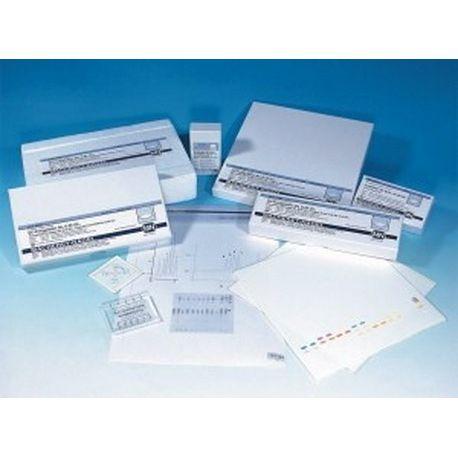 Plaques CCP alumini SIL-G/UV 50x75 mm. Capsa 20 unitats