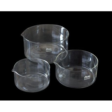 Cristalizador vidrio borosilicato con pico. Tamaño 75x150 mm (1000 ml)