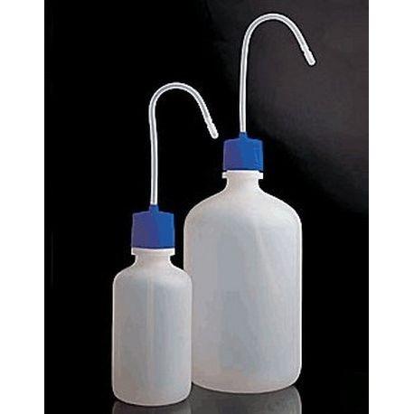 Frasco lavador plástico PEHD. Capacidad 250 ml