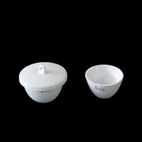 Gresol porcellana forma baixa amb tapa. Mides 27x47 mm (25 ml)
