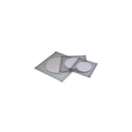 Rejilla tela metálica con fibra cerámica. Medidas 150x150 mm