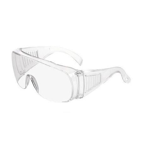 Gafas protección policarbonato PC C-580-I. Varillas fijas
