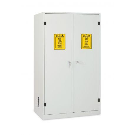 Armario seguridad 2 puertas metálicas (1C). Medidas 1140x600x1950 mm