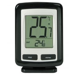 Termómetro digital interior-exterior TFA-3040. Sensor remoto
