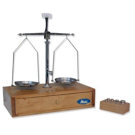 Balança granetari KBQ-005 amb pesos. Càrrega 100 grams en 0'02 g