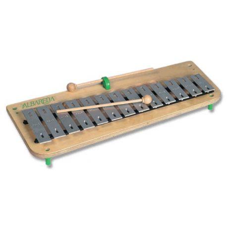 Carillón diatónico Albareda CSD. Soprano DO-LA 16 notas