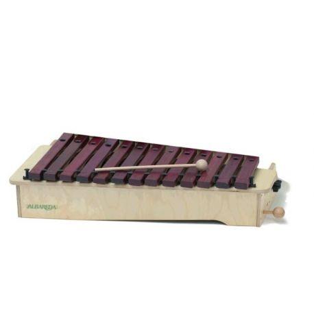Xilófono diatónico Albareda XSD. Soprano DO-LA 16 notas