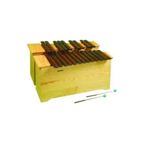 Xilòfon cromàtic Albareda 1520. Baix DO-LA 22 notes