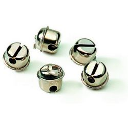 Cascavell cromat amb anella. Diàmetre 20 mm