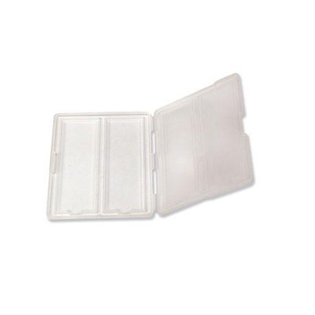 Capsa guardar portaobjectes plàstic BPG-007. Capacitat 2 peces