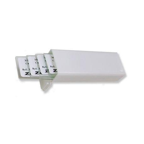 Caja guardar portaobjetos plástico BPG-008. Capacidad 5 piezas