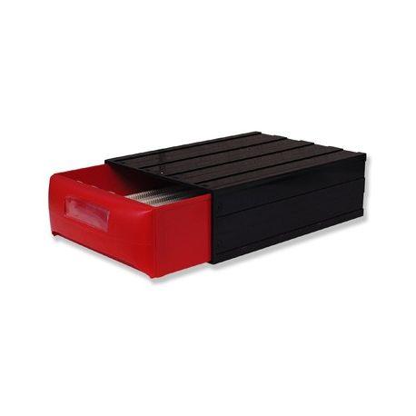 Archivador portaobjetos plástico aplicable BPG-017. Capacidad 450 piezas