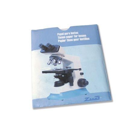 Papeles limpiar lentes 150x100 mm. Bolsa 50 unidades
