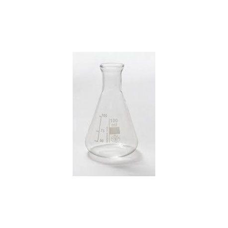 Matraz Erlenmeyer vidrio Simax. Capacidad 25 ml