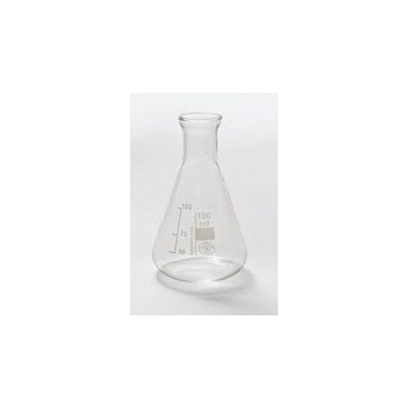Matraces Erlenmeyer vidrio Kimax 25 ml. Caja 10 unidades