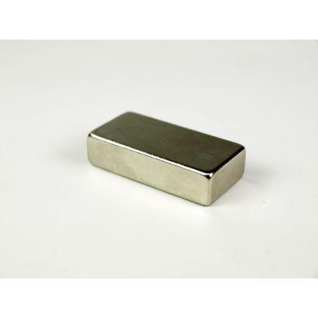 Imant neodimi rectangular. Mides 40x20x10 mm