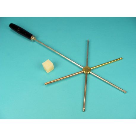 Braços conducció térmica QLJ-002. Llautó-ferro-alumini-acer-coure