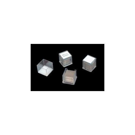 Cobreobjectes rectangulars 24x40 mm. Capsa 100 unitats