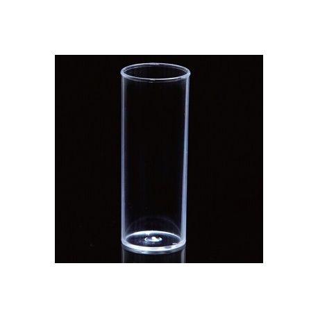 Pots drosòfila plàstic PS 29x95 mm. Paquet 20 unitats