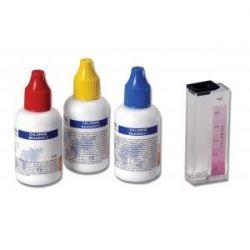 Prueba química HI-3831F. Cloro libre 0'0-2'5 mg / l. Caja 50