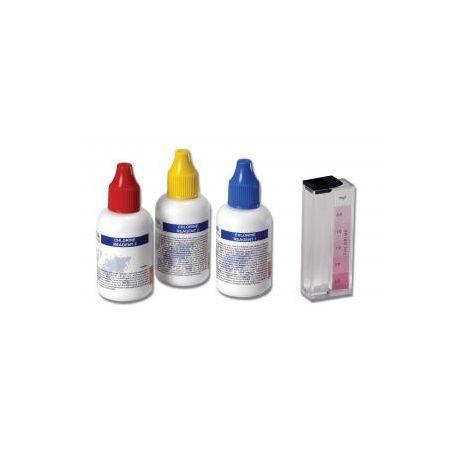 Prueba química HI-3831F. Cloro libre 0'0-2'5 mg / l. Caja 50 tests