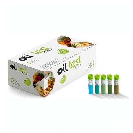 Prova química OTCX-50. Control olis de fregit. Capsa 50 tests