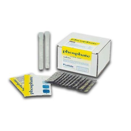 Prova química Testab 5892. Fosfat 0...2'5 mg/l. Capsa 100 tests