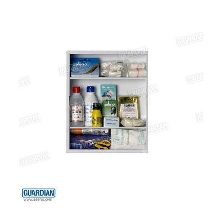 Equipament farmaciola Guardian BCO-015. Contingut 34 articles
