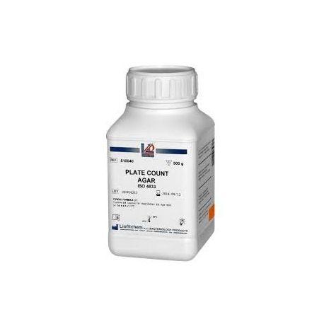 Agar rojo bilis violeta lactosa (VRBL) deshidratado L-610058. Frasco 500 g
