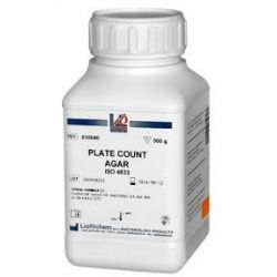 Agar vermell bilis violeta glucosa (VRBG) deshidrat L-610059. Flascó 500 g