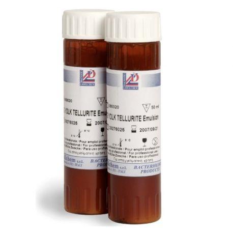 Suplemento selectivo polisobat 80 (Tween 80) L-80031. Caja 2x50 ml